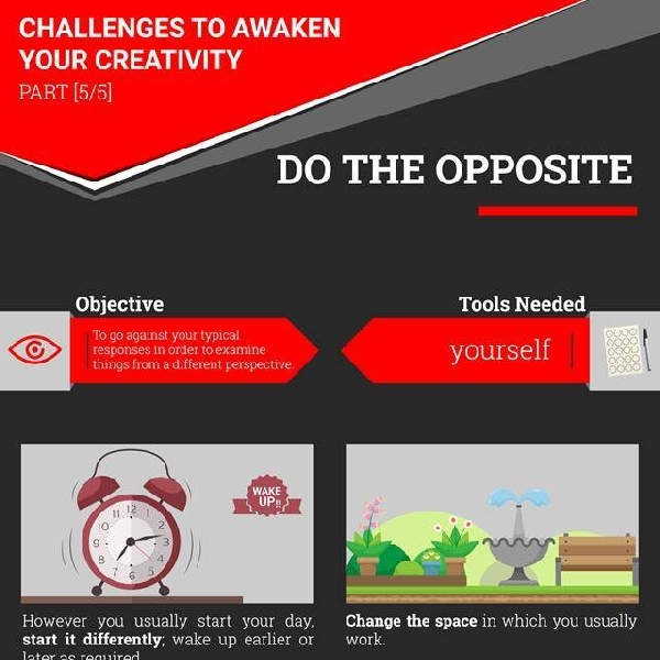 Challenge to Awaken Your Creativity [Part 5]