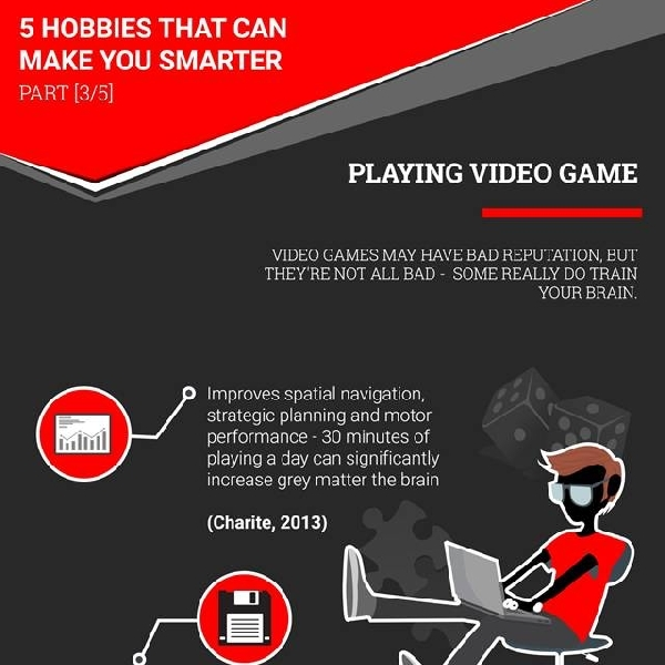 5 Hobbies That Can Make You Smarter [Part 3]