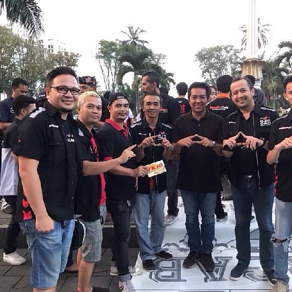 Black Car Community (BCC) meriahkan Kopdagab perdana FK3O West Java