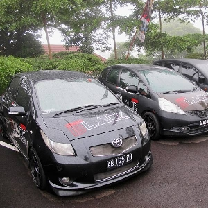 Puluhan Mobil Hitam dari Berbagai Kota Padati BCC Banyumas Anniversary ke-7