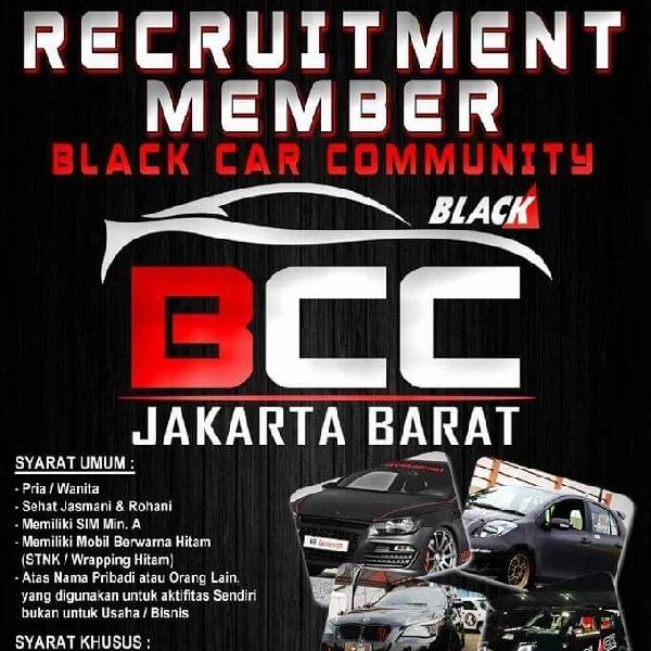 BCC Jakarta Barat Membuka Pendaftaran Member Baru