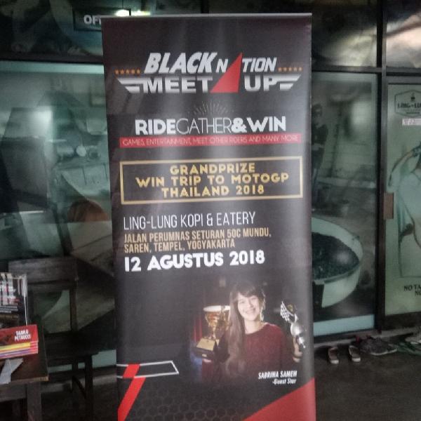 Ratusan Orang Siap Ramaikan BLACKNATION MEET UP 2018 Yogyakarta