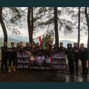 Perkuat Solidaritas, Black Motor Community Jakarta Barat Lakukan Touring Wajib