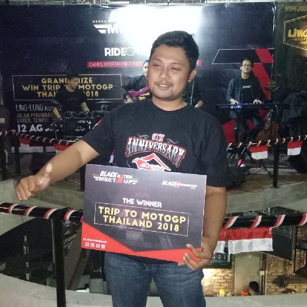 Awalnya Iseng, Pria Ini Malah Menangkan Grand Prize Nonton MotoGP di Thailand