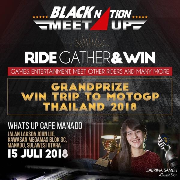 Nantikan Keseruan Nobar MotoGP di BLACKNATION MEET UP 2018