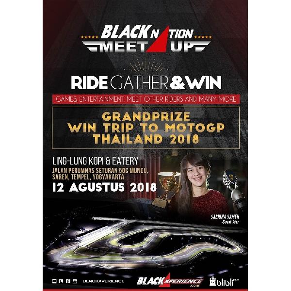 BLACKNATION MEET UP 2018 Singgah di Yogyakarta