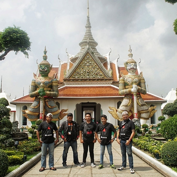 BlackNation Meetup Goes to Thailand Day 3 - Perjalanan mengenal kota Thailand