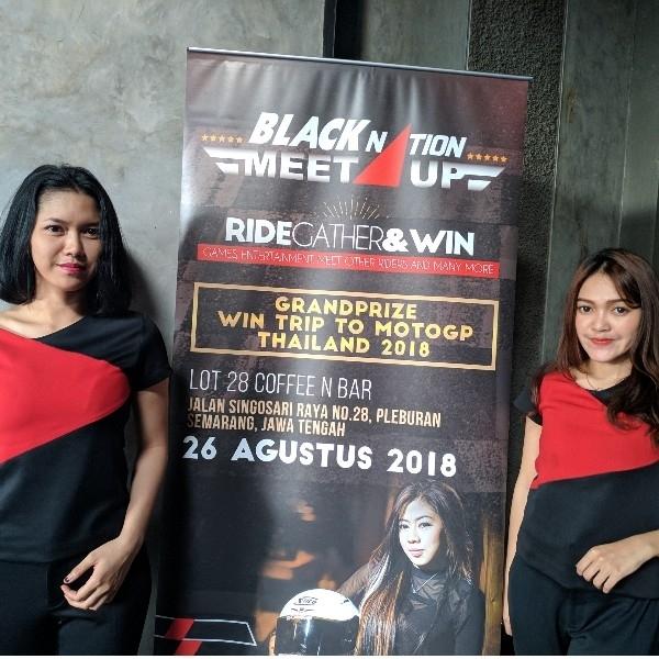 Meski Race Ditunda, BLACKNATION MEETUP 2018 Semarang Tetap Meriah