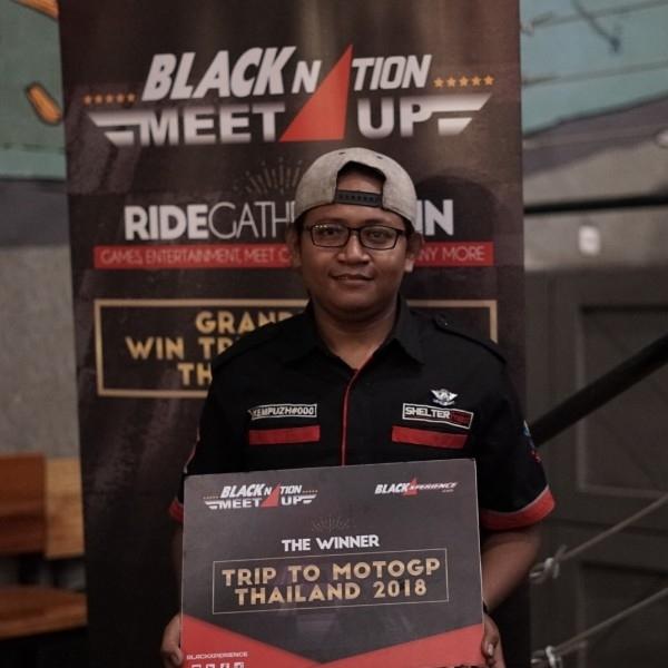 Ini Pengunjung yang Beruntung Bawa Pulang Tiket Nonton Langsung MotoGP Thailand