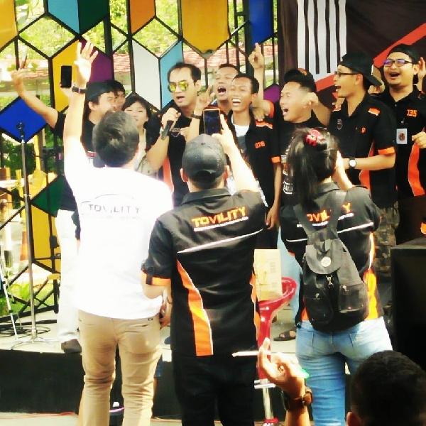 Jambore Perdana Tovility: Ajang Silahturami Member se-Nusantara