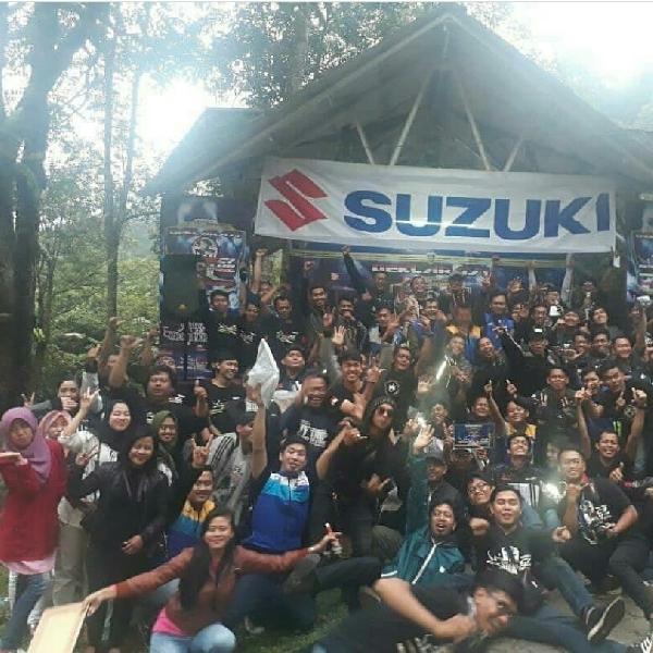 GSX Club Indonesia Chapter Sukabumi Diresmikan Wakil Walikota