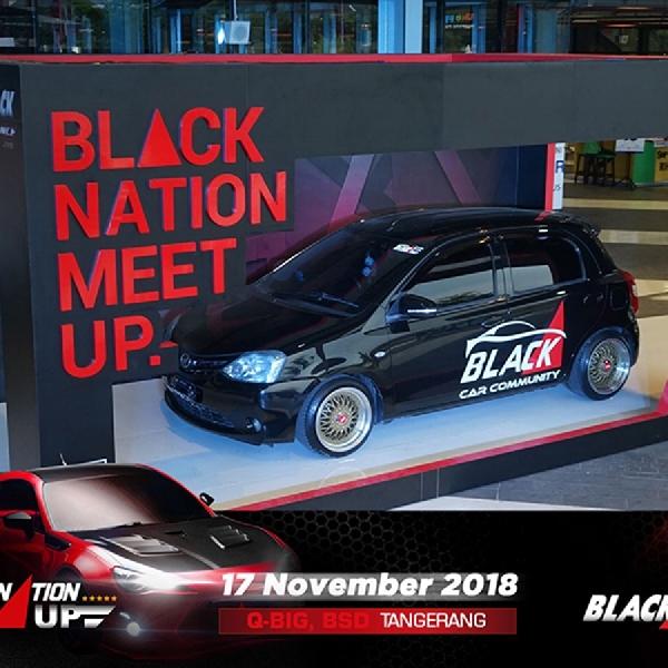 BLACKNATION MEETUP 2018 : Black Box Diecast dan dB Muffler Competition Jadi Icon Baru