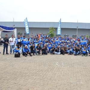Ratusan Bikers di Bandung Jajal Ban Pirreli Sejauh 170 Km