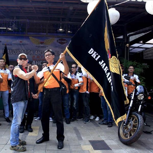 Di Hadiri Ratusan Bikers- Nahkoda Baru MBC DKI Jakarta Resmi Dilantik
