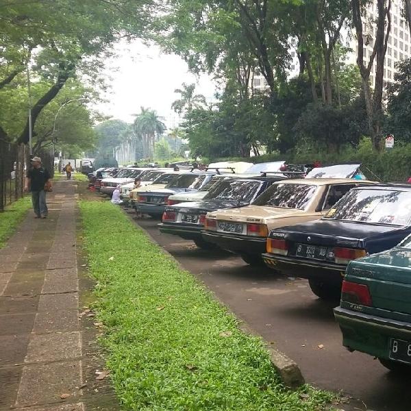 Reunian 10++, Bukti Eksistensi Pecinta Mobil Klasik