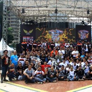 Jakarta International Bike Week 2017 Pecahkan Rekor Muri Moge Paling Terbanyak