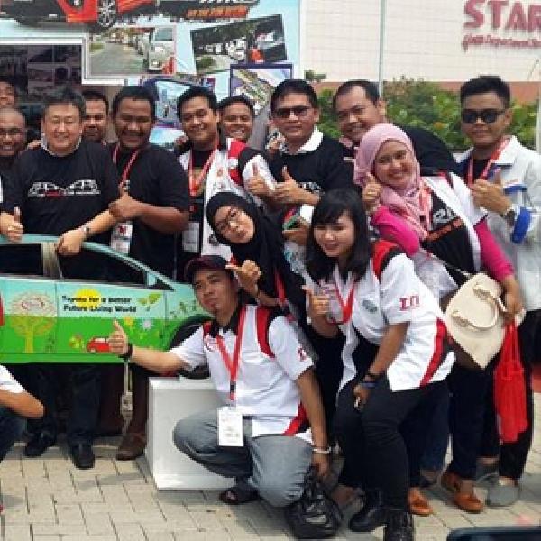 Toyota Jamboree 2015 Dipadati Belasan Komunitas Toyota