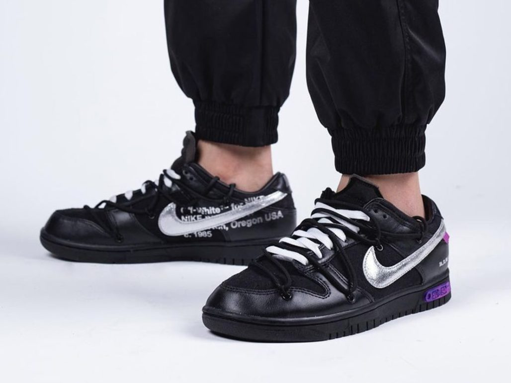 Ke-50 Sepatu Baru Off White x Nike Dunk Low