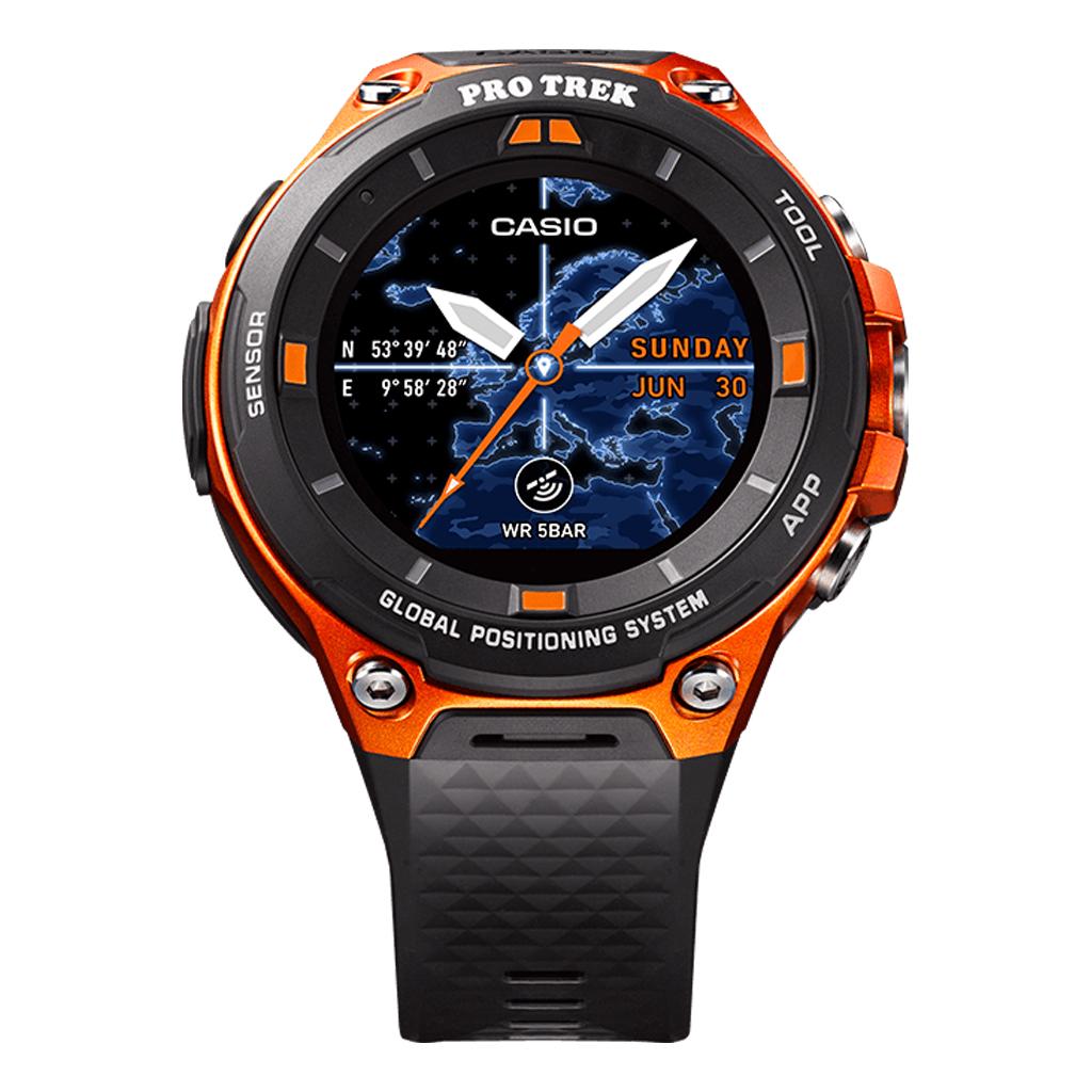 Casio Resmi Rilis Pro Trek Smart Wsd F20 Nokia Xl Oranye