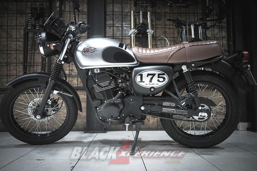 Mudahnya Memodifikasi Motor Retro Klasik Kawasaki W175