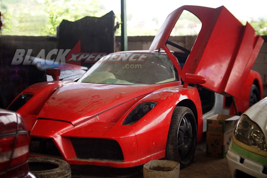 Modifikasi Extreme Kreator Replika Supercar Asal Bandung