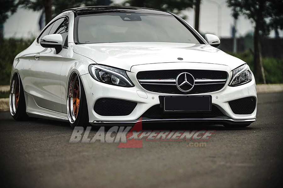 Modifikasi Mercedes Benz C300 Coupe W205 Nan Simpel Dan Eksklusif