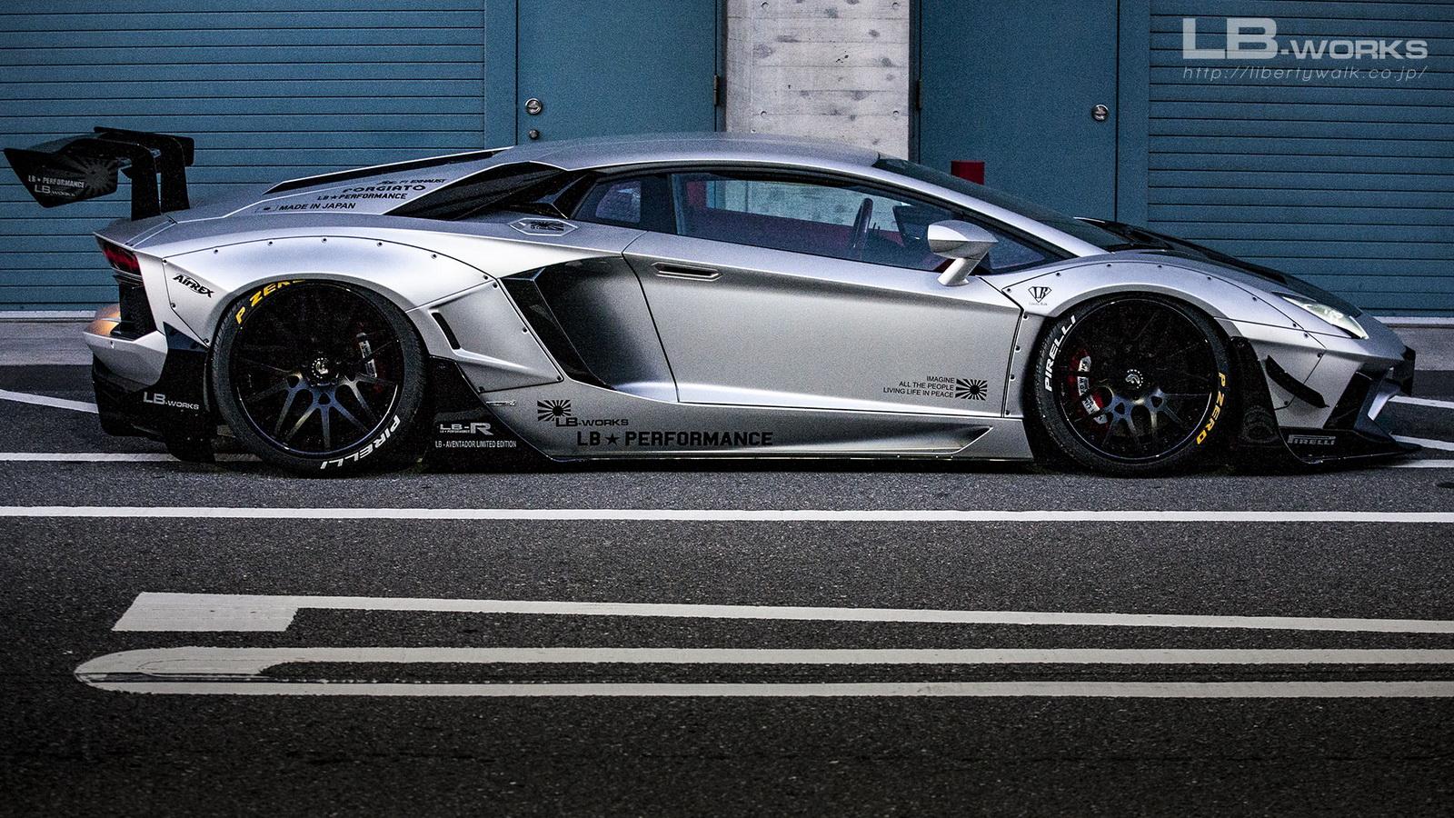 Galeri Gambar Modifikasi Mobil Lamborghini Aventador Dunia Ottomotif