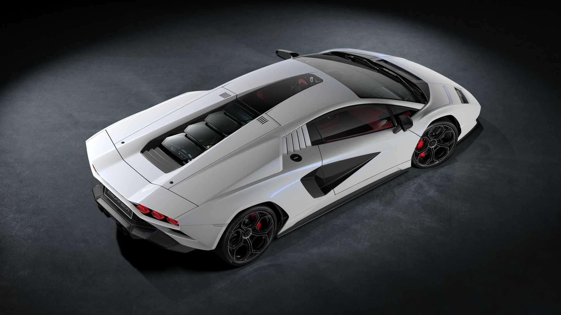 New Lamborghini Countach Terungkap Sebagai Hypercar Hybrid V12 803 Hp