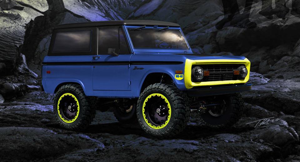 Modifikasi Ford Bronco Akan Tampil Secara Perdana Di Sema
