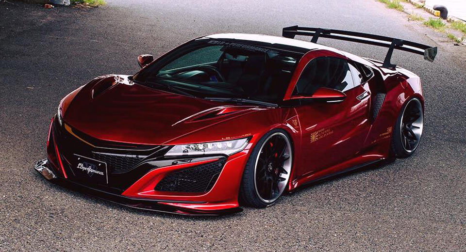 Modifikasi Honda NSX: Garang Seperti Mobil balap ...