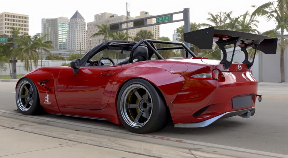 Mazda Of Erie >> Modifikasi Mazda MX-5 Miata 2016 Ekstrim Rocket Bunny ...
