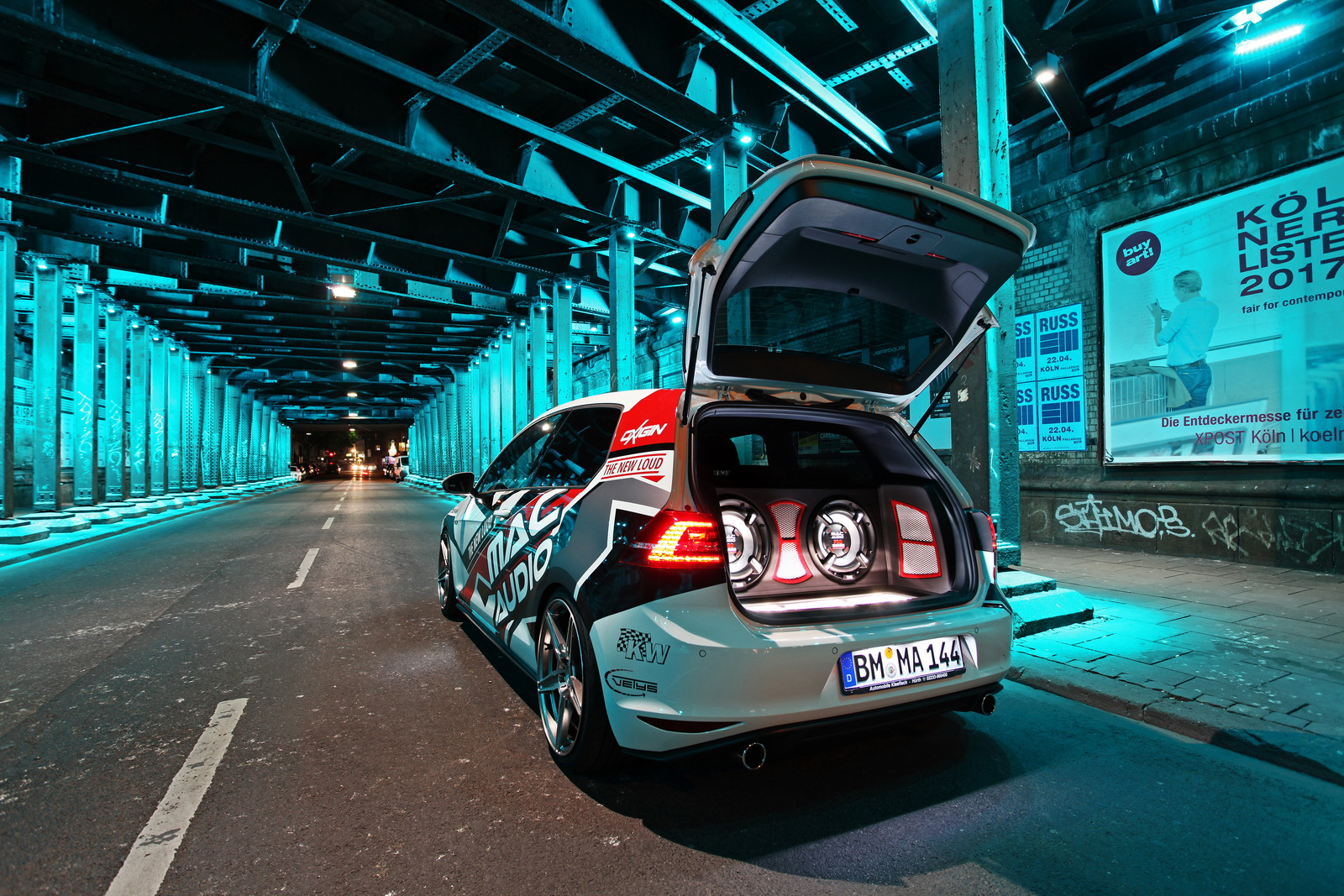 Modified VW Golf 7 GTI Performance by Mac Audio ...