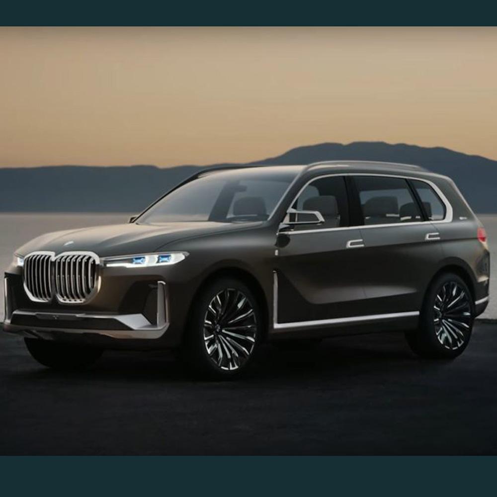 Bmw X7 Interior: Tampilan Interior BMW X7 Mulai Terbuka