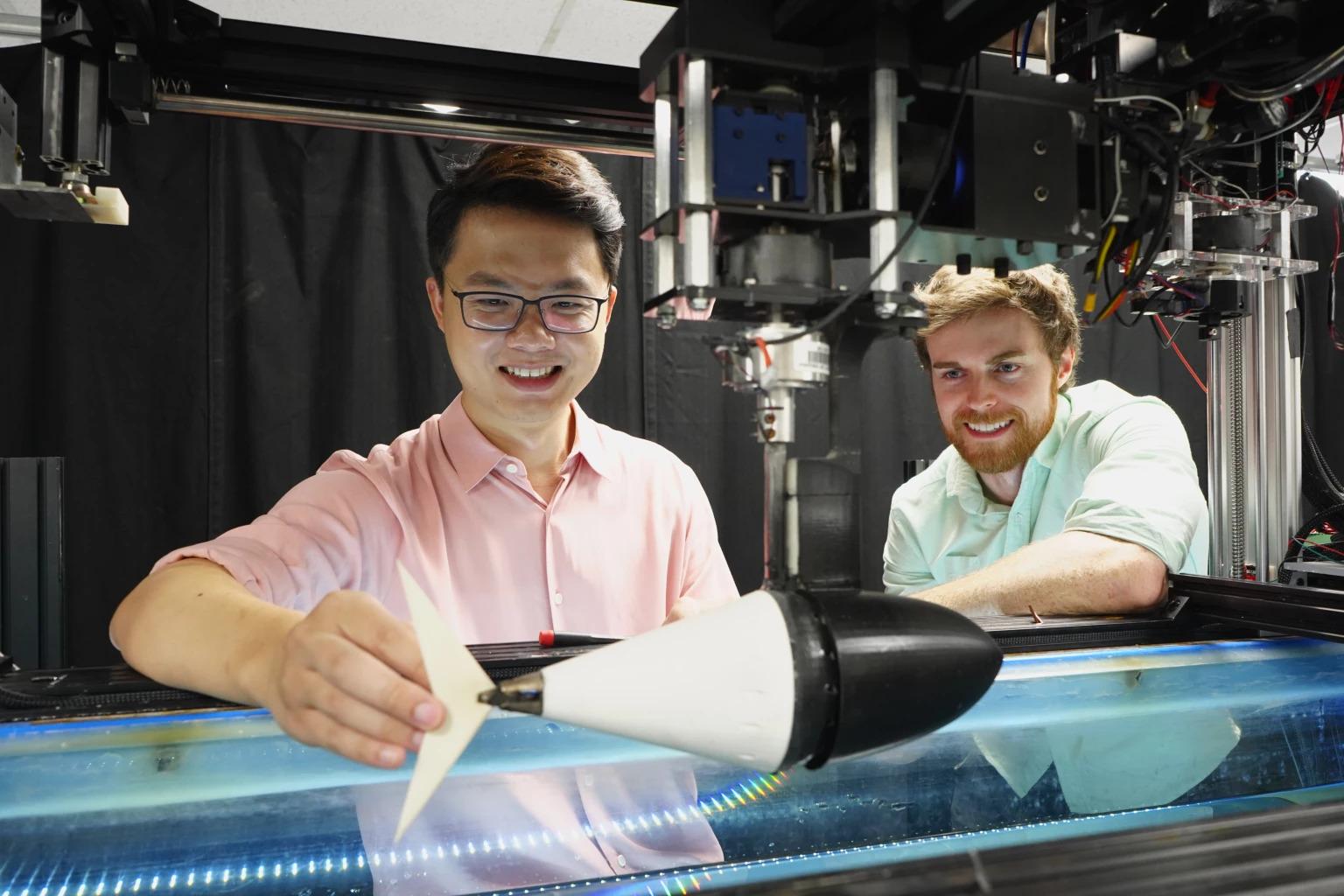 Robot Tuna Berhasil Berenang Dengan Kecepatan Seperti Ikan Asli