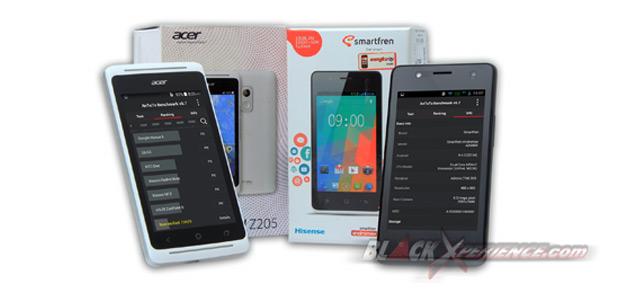 Adu Jago Smartphone Low End Acer Liquid Z205 Dan Smartfren Andromax
