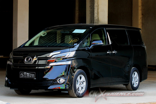 Review Toyota Vellfire 2015 Indonesia Versi 8 Seater