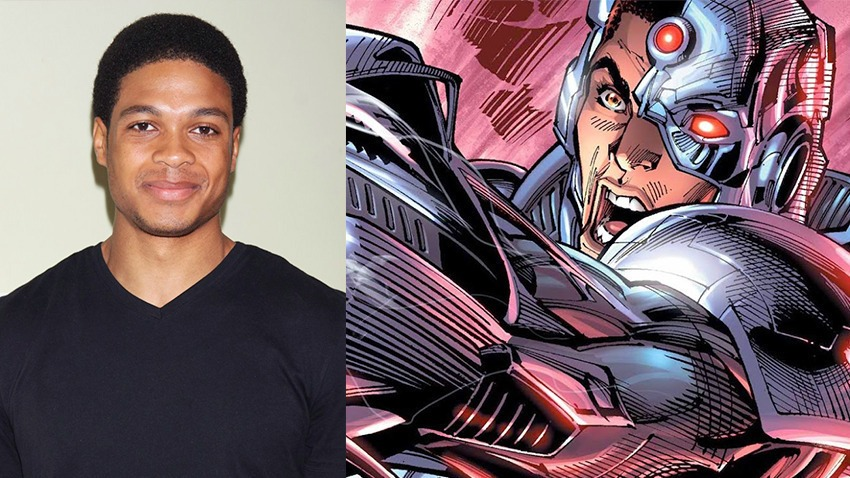 Ray Fisher in 'Cyborg' (2020)