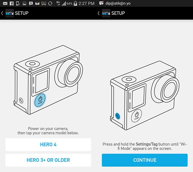 Cara Koneksikan Gopro Hero 4 Dengan Smartphone Blackxperience Com