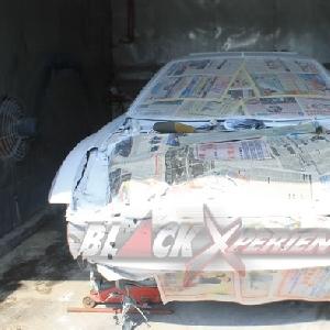 Toyota Celica, sesaat setelah pengecatan dasar