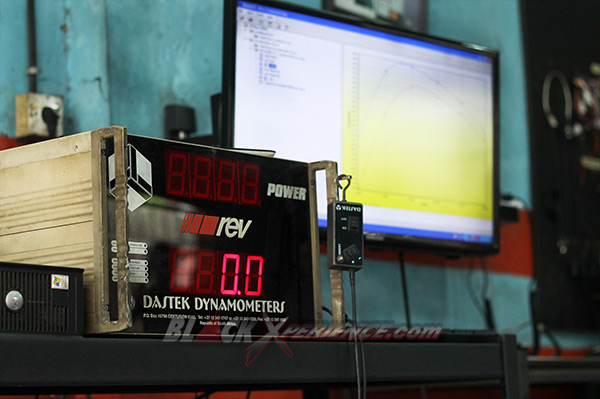 Dastek Dynanometer sudah On