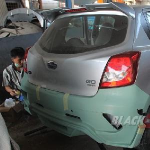 Pengemalan bumper custom belakang