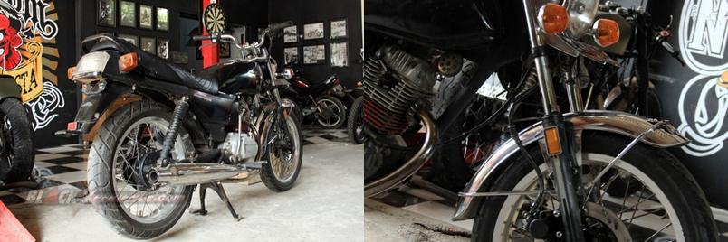 Cara Nin Rocksta Memodifikasi Honda Gl Max Bergaya British Chopper