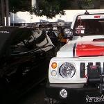 Suzuki Katana Semi Offroad Nyentrik Ditengah Mobil Modifikasi