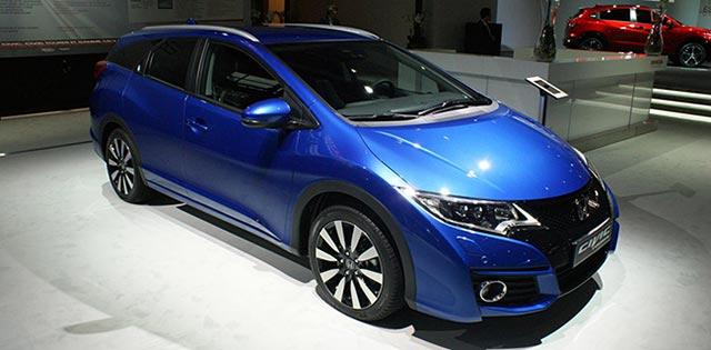 Honda Civic Hatchback Di Paris Motor Show 2014