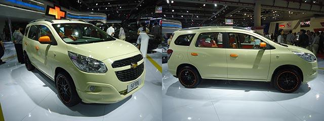 Chevrolet Spin Di IIMS 2014