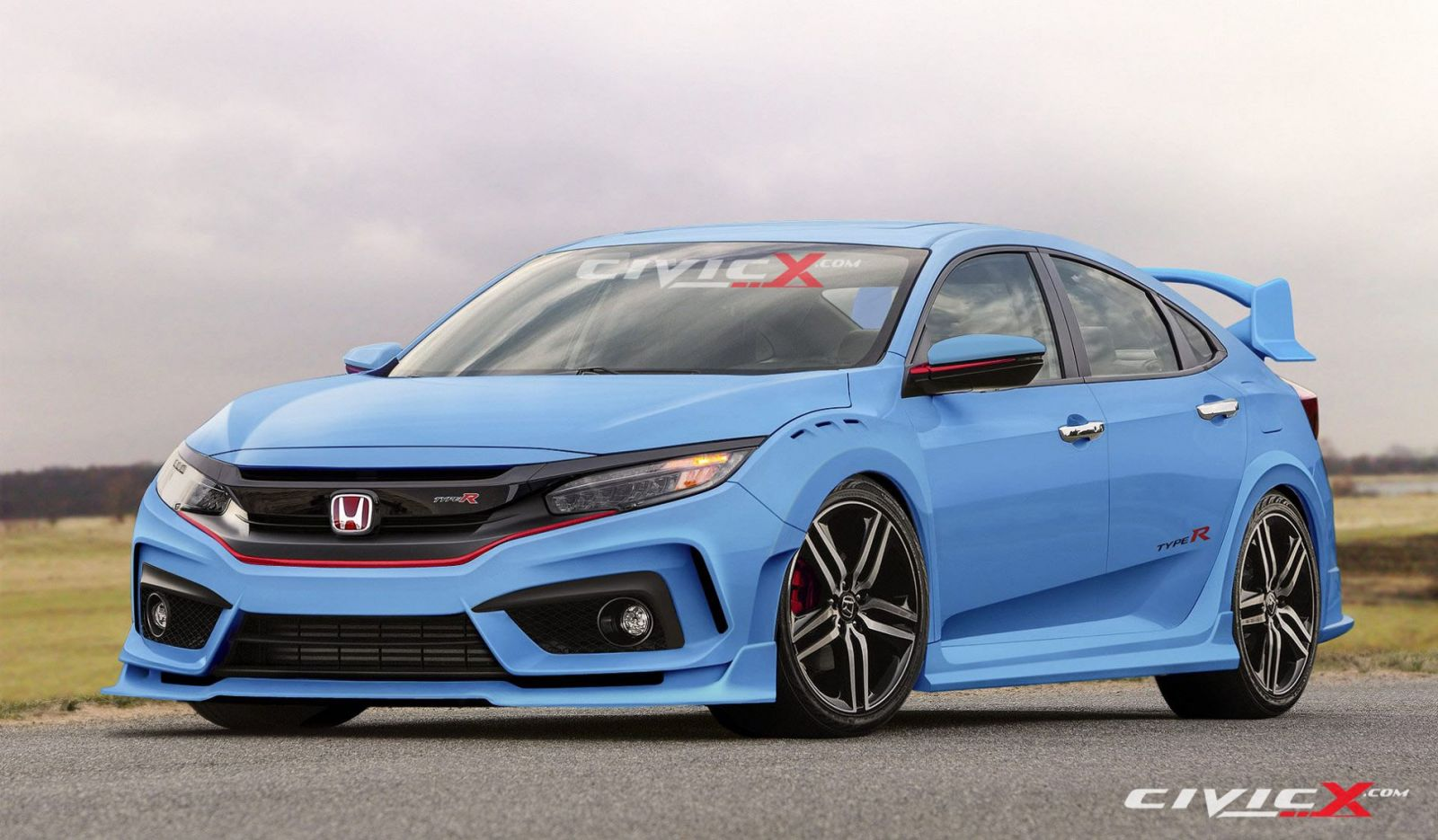 Inikah Honda Civic Type R