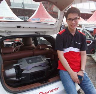 Head Division Manager, Pioneer Indonesia, Max Adam Kamil