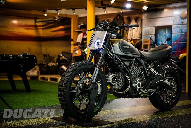 Modifikasi Ducati Scrambler Off Road Style Blackxperience Com