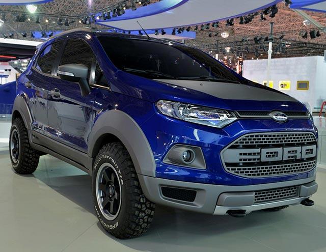 Modifikasi Ford EcoSport Dengan Tampilan Wajah Berbeda ...