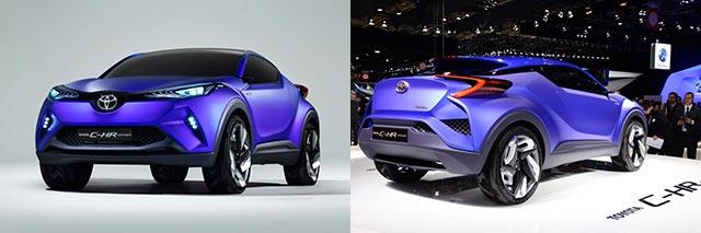 Toyota C-HR Di Paris Motor Show